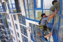 замена стеклопакета одесса, замена стеклопакетов на фасаде, замена стеклопакетов